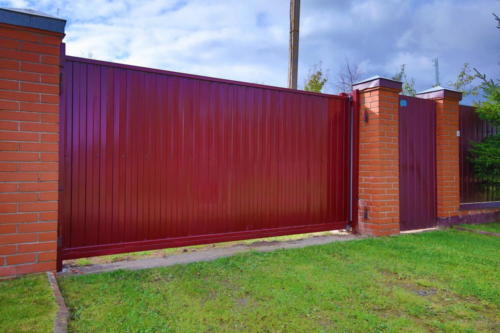 Что такое откатные ворота?