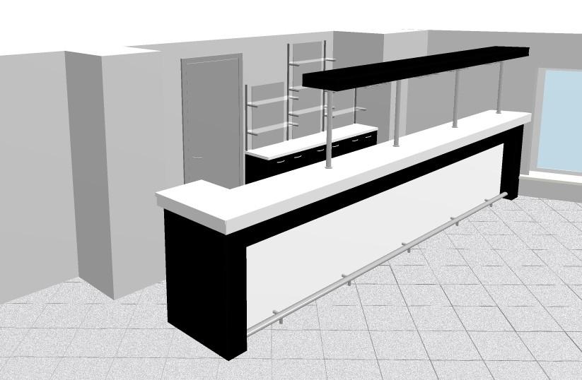 Что такое барная стойка и ее конструкция.