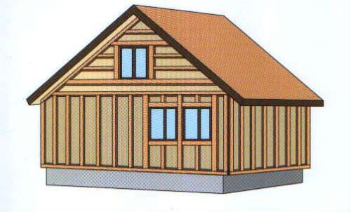 Деревянная обрешетка для обшивки виниловыми панелями