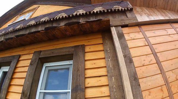Деревянная вагонка украсит не только внешний, но и внутренний дизайн дома