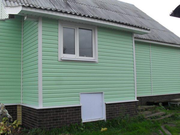Дом с вентилируемым фасадом