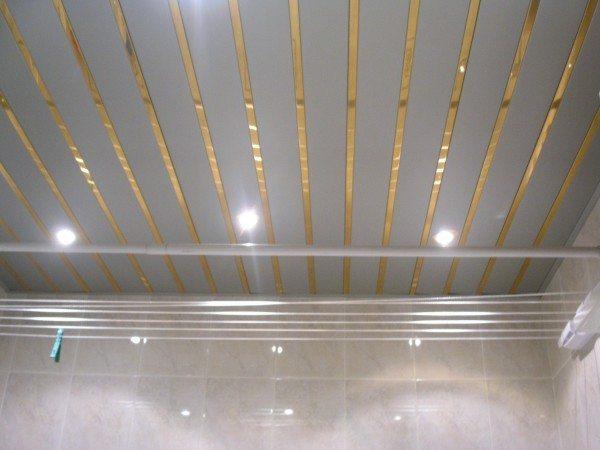 Фото отделки потолка - эффектное решение