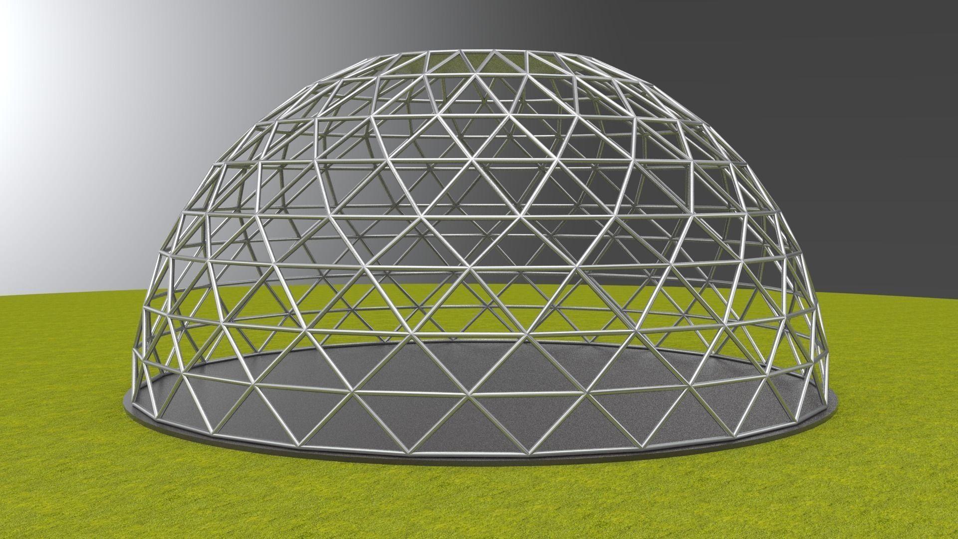 Геодезические купола