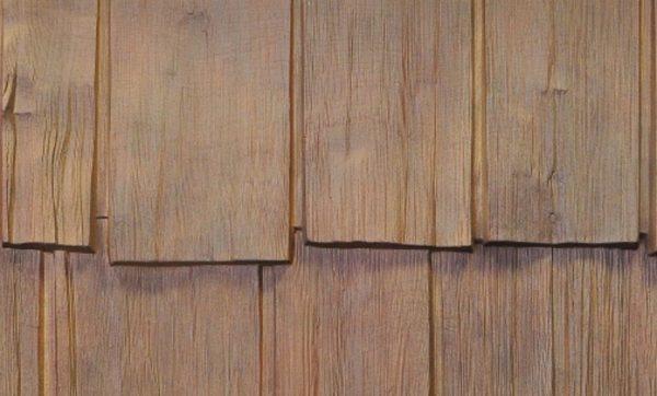 Имитация древесины очень точная, издали сложно понять, что перед вами пластик