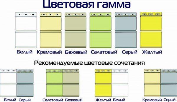 Можно сочетать цвета для создания уникальной архитектуры.
