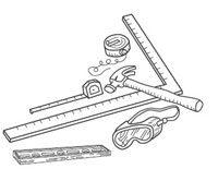 Для монтажа винилового сайдинга вам понадобятся простые подручные инструменты.