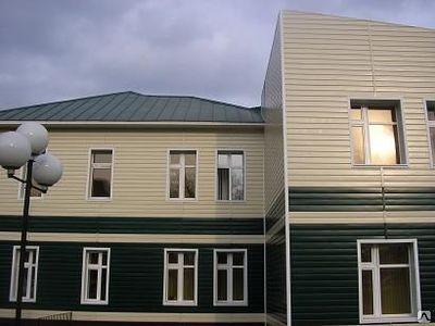 Комбинируя цветовые гаммы материала, можно создавать превосходные дизайны фасада
