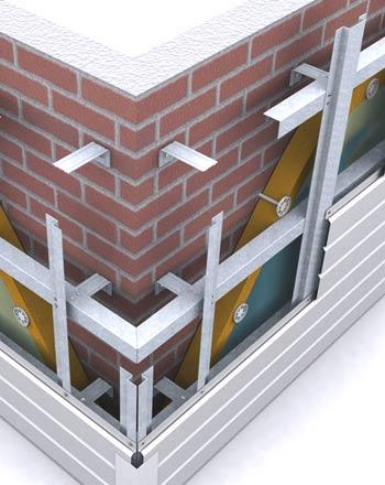 Подвесная облицовочная фасадная система, особенности крепежа