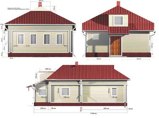 Наглядная схема фасада