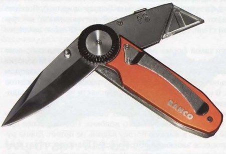 Нож должен иметь «плавающий» ролик, как на этом фото. Он оказывает амортизирующий эффект