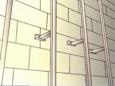 Расстояние между обрешеткой и стеной