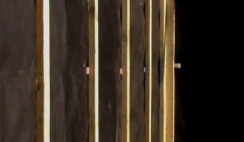 Вертикальная обрешётка для монтажа панелей