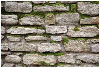 Фото цоколя, облицованного природным камнем