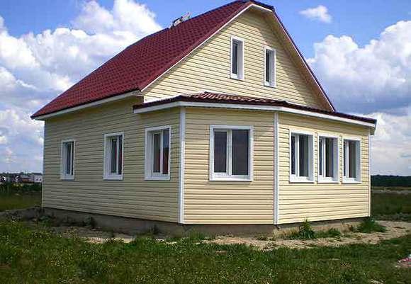 Отделка сайдингом – завершающая нотка в строительстве дома