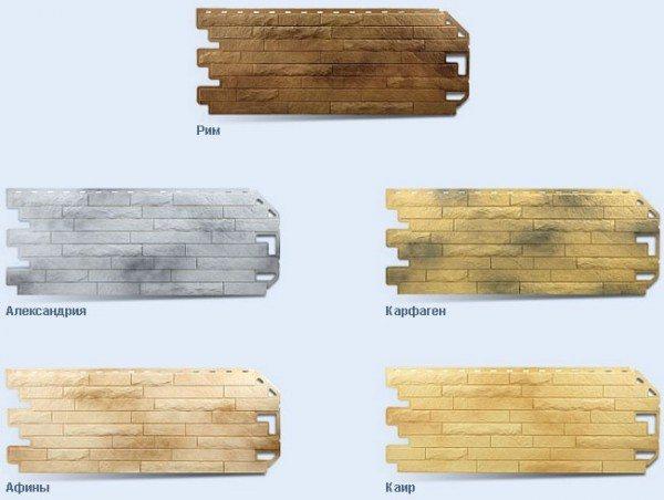 Панели, имитирующие древнюю кирпичную кладку