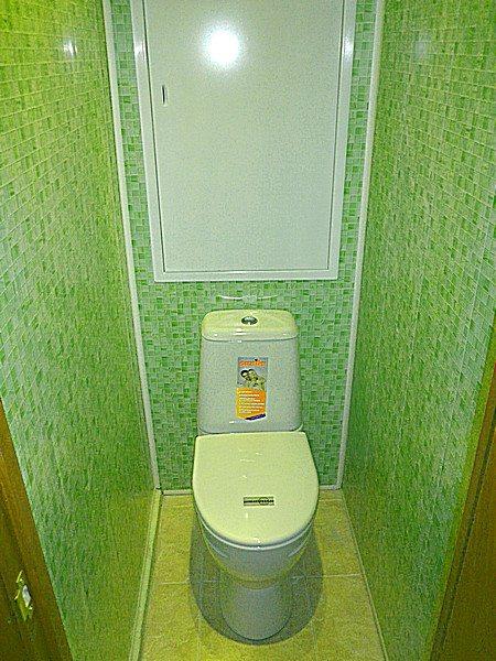 Туалет отделка пластиковыми панелями своими руками