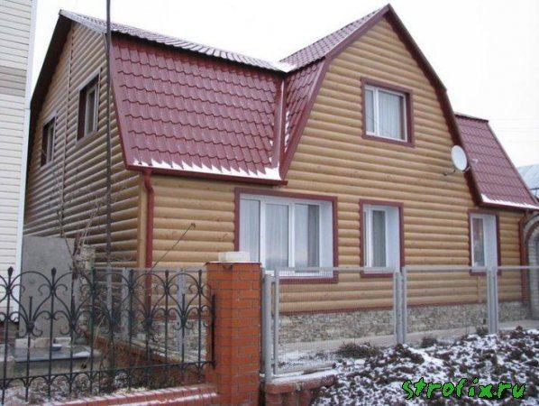 Здание с металлическим сайдингом
