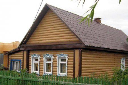 Глядя на фото, не сомневаешься, что дом деревянный