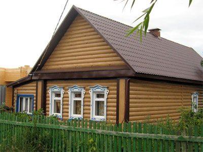 Сайдинг под деревянный сруб – отличный способ сэкономить на отделке фасада