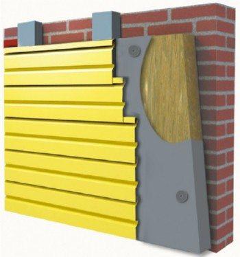 Особенности монтажа подвесных фасадных систем