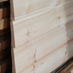 Клиновидный деревянный сайдинг