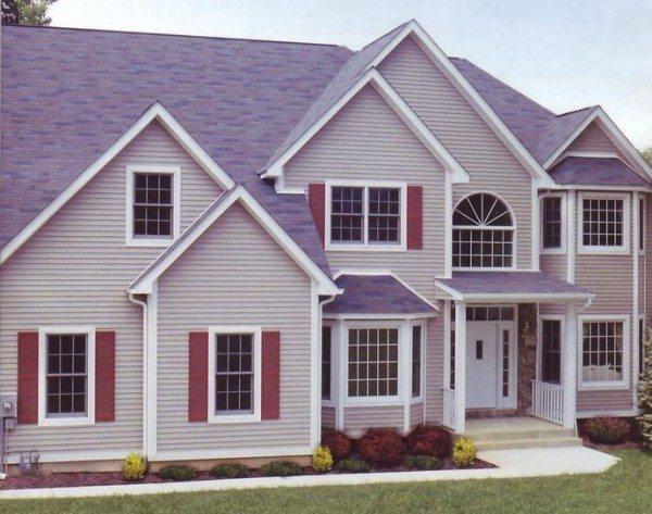 Сайдинг стал традицией в частном жилищном строительстве.