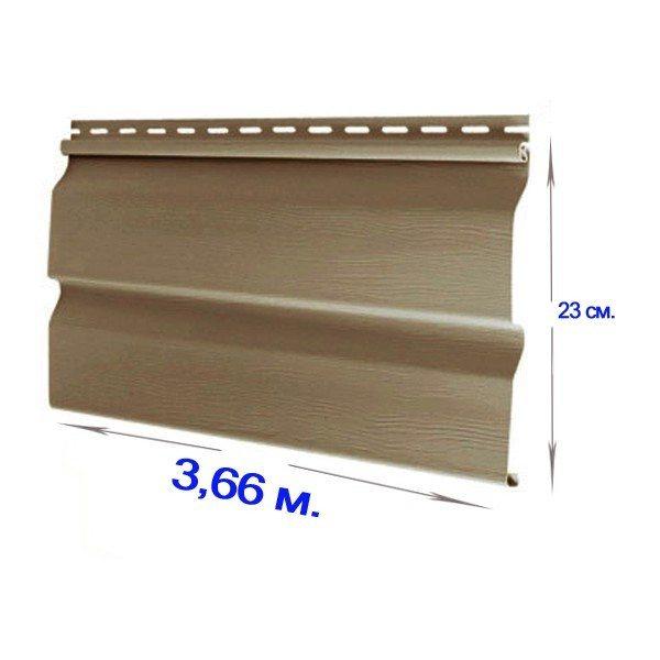 Стандартные размеры сайдинг-панелей
