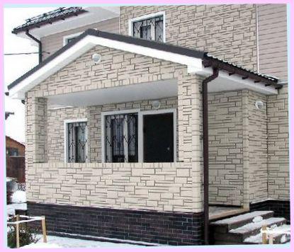 Цементные панели – великолепный дизайн коттеджа