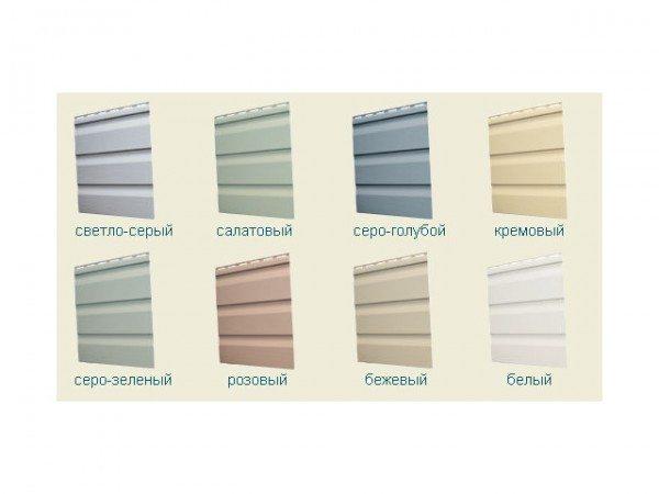 Предлагаемые варианты цветовых решений – оригинально и стильно!