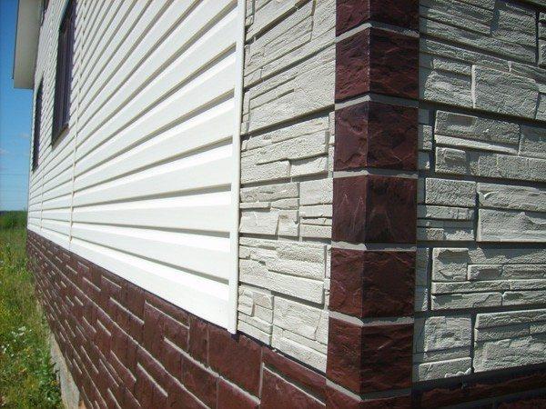 Обшивка дома виниловым сайдингом