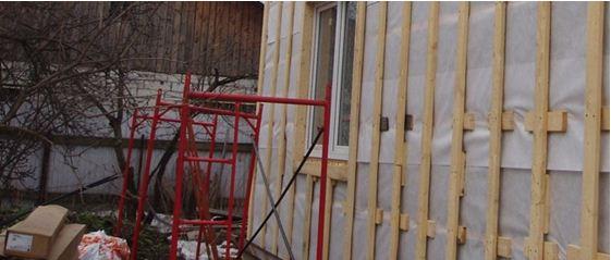 Вместо подвесов можно использовать подкладки из дерева или фанеры