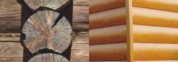 Долговечность виниловых панелей намного больше, чем дерева